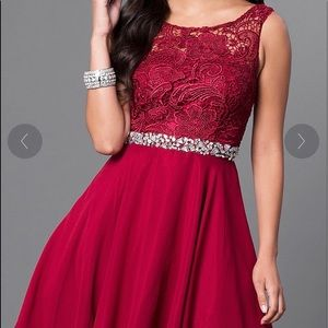 DANCING QUEEN | Red party dress